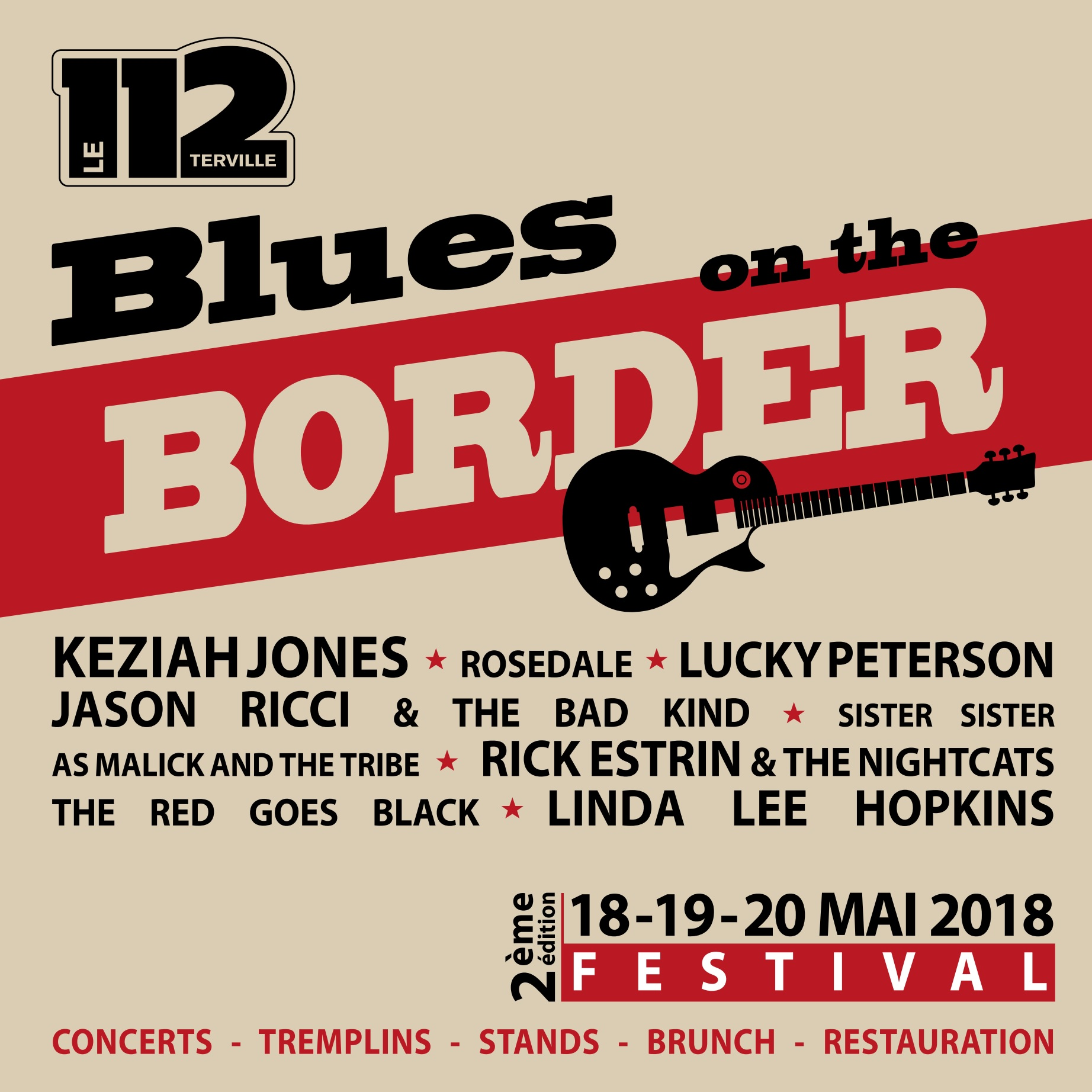 Festival BOB - Blues On the Border - PROGRAMME