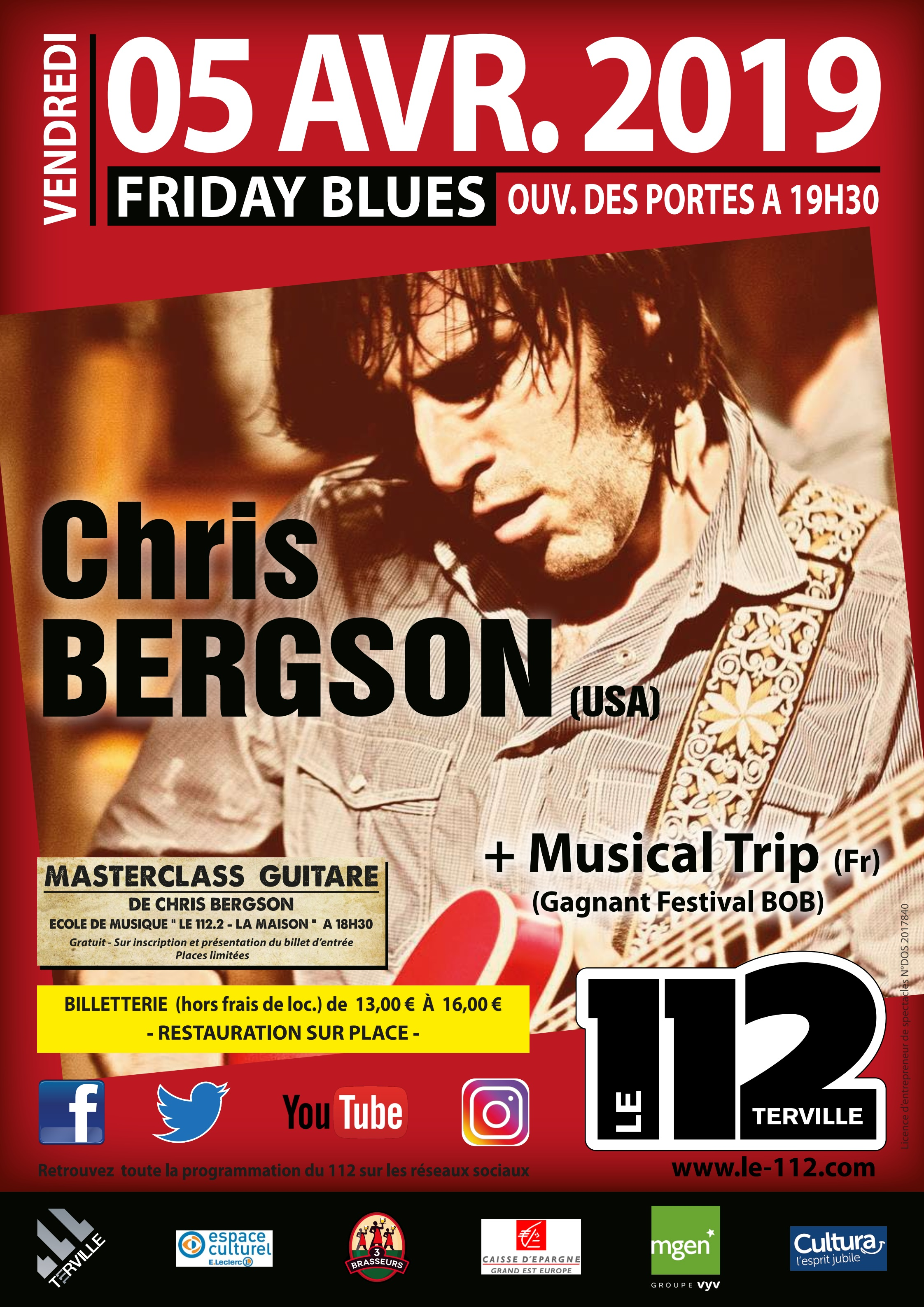 CHRIS BERGSON + Musical Trip